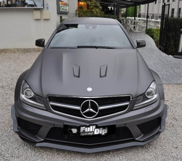 covering mercedes c63 amg gris mat fulldip blog de plasti covering. Black Bedroom Furniture Sets. Home Design Ideas