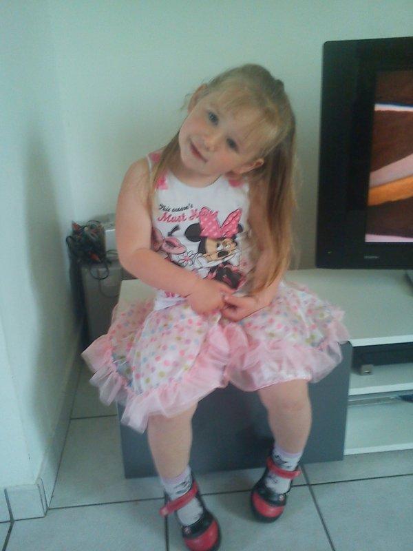 ma princesse qui grandit tellement vite!!