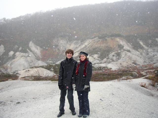 Perrine et Ghislain au Japon
