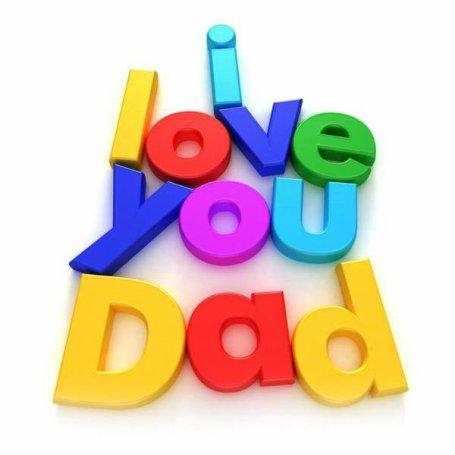 <3 ze t'aime mon papa <3