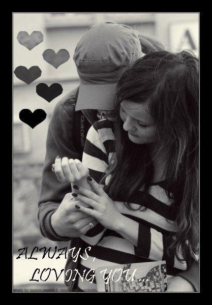 je t'aime mon coeur et je ne te laisserais jamais <3