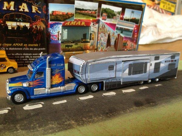caravane de direction