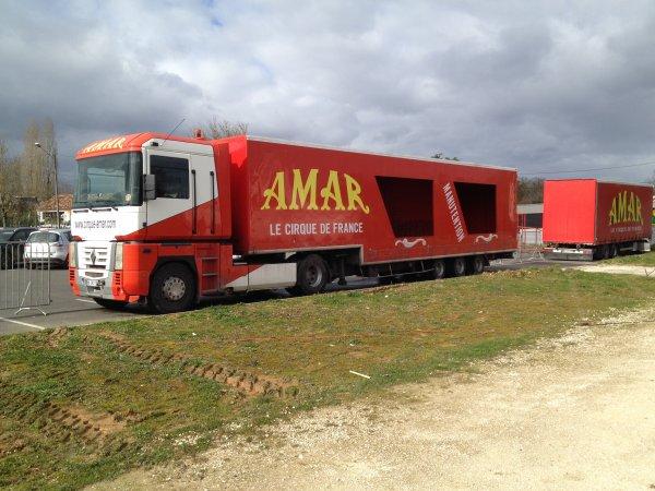 reportages du cirque AMAR