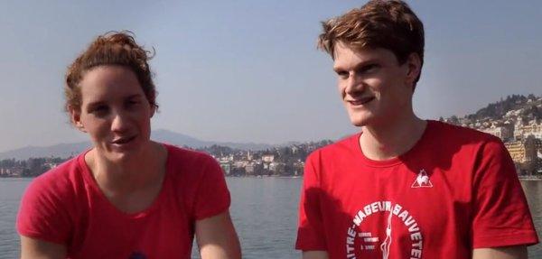 Yannick AGNEL & Camille MUFFAT