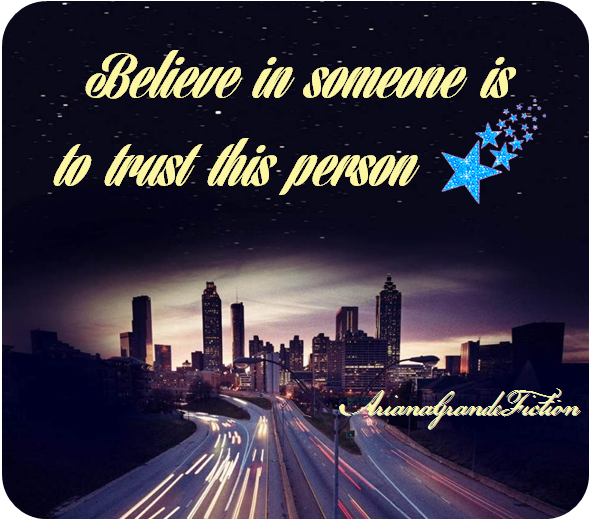 One Shot: Believe in someone is to trust this person ❤