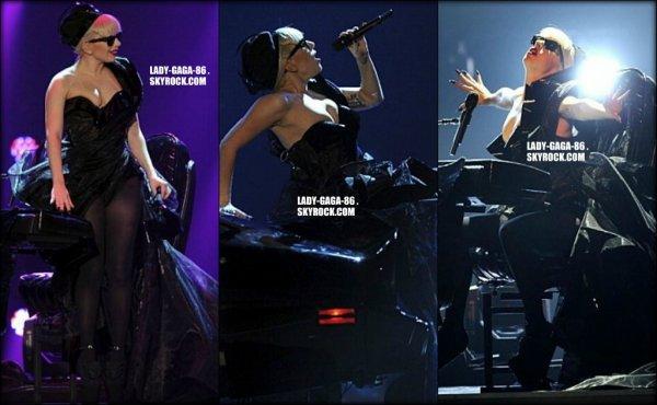 10 Novembre 2011 . Lady Gaga était aux Bambi Awards en Allemagne.