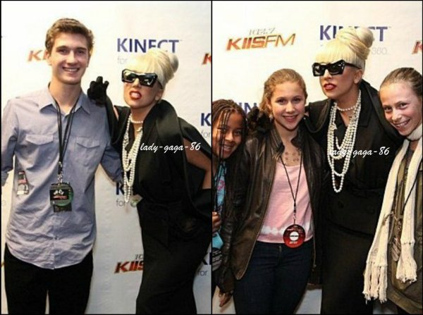 03/12/11 - Lady Gaga arrivant au concert KIIS FM Jingle Ball 2011.