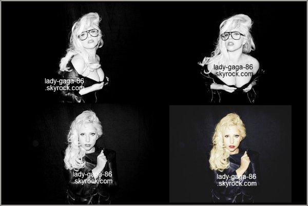 Nouvelles photos de Terry Richardson et Lady Gaga.