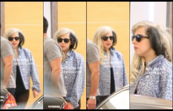 10/02/12 - Lady Gaga et Taylor Kinney aperçus à L.A arrivant à Soho House.
