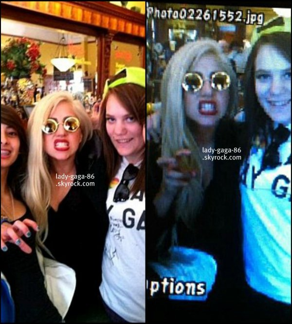 26/02/12 - Lady Gaga vue au restaurant The Girl and the Fig en Californie.