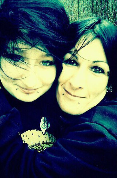 Amandine ma fille et Moi ♥