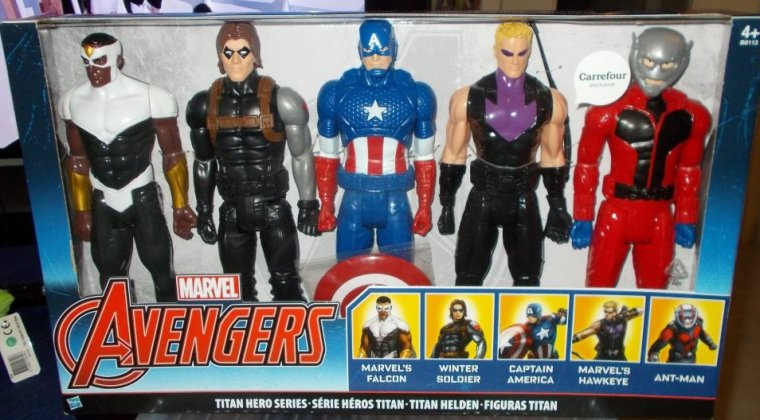 Coffret 5 Figurines Avengers