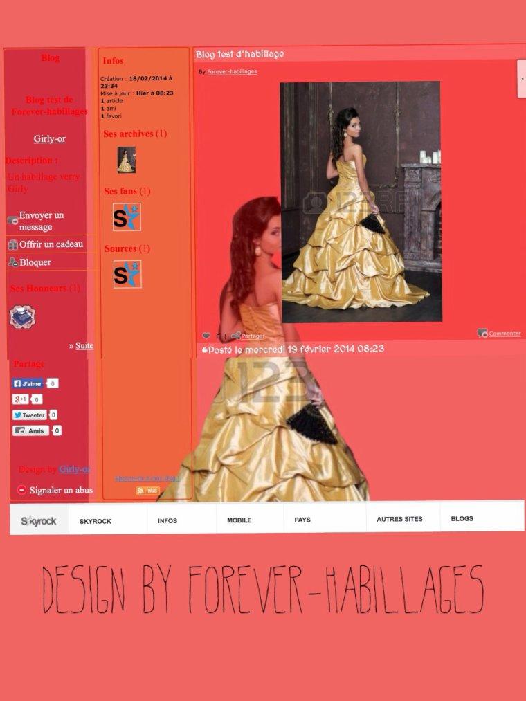 Habillage princesse