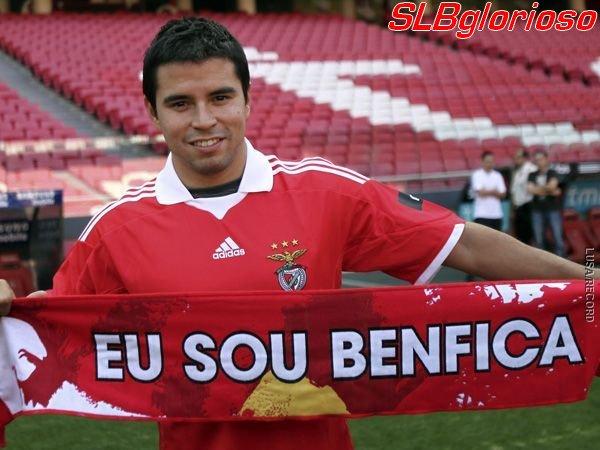 Saviola no SL Benfica Saviola au SL Benfica
