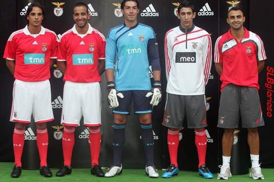 Nova Camisola Oficial do SL Benfica 2009/2010 Nouveau Maillot Officiel du SL Benfica 2009/2010