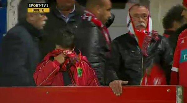 SL Benfica fica triste hoje pela vergonha do futebol português SL Benfica est triste aujourd'hui pour la honte du futebol portugais