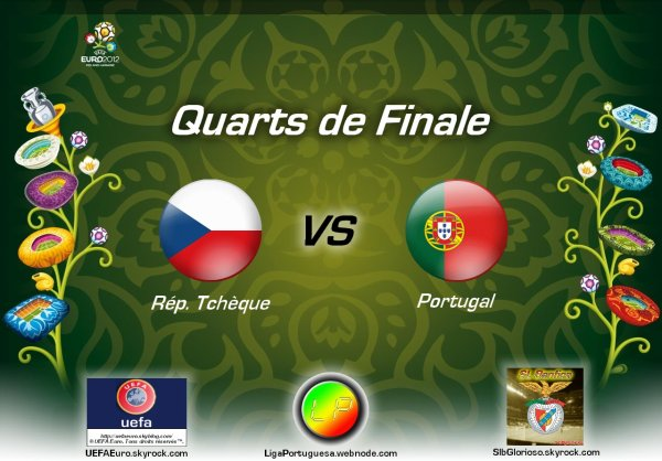 UEFA Euro 2012 • Rep.Checa 0-1 Portugal • Quartos-de-Final UEFA Euro 2012 • Rép.Tchèque 0-1 Portugal • Quarts de Finale