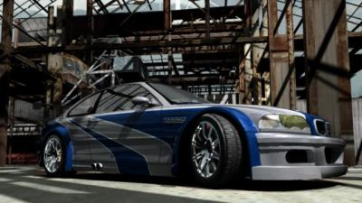 Voici une voiture de Need for Speed Most Wanted