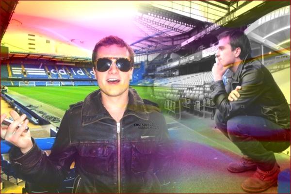 * Quelques photos personnels de Josh (alias Peeta) lorsqu'il était à Paris ainsi qu'au Stamford Bridge à Londres.  *