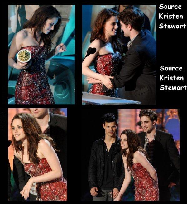 06/05/11 : Hier soir Kristen était présente pour les MTV Movie Awards.