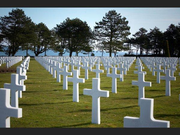 Un cimetière...