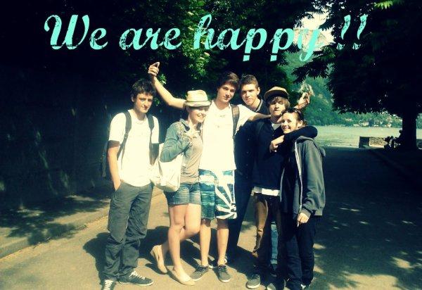 We Are Happy !!