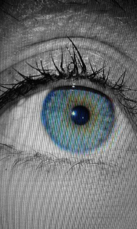 Mon oeil (mascara un peu freestyle)