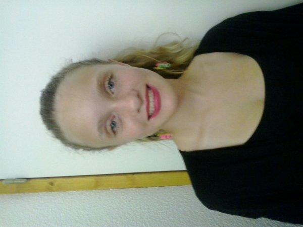 Maquillage pour le pestacle !!