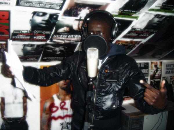 Alsen Bastos En Studio Pour La Mixtape !!