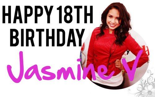 joyeux anniversaire Jasmine !!! :)