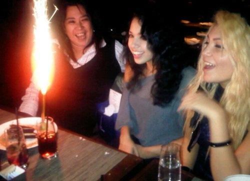 Jasmine;Jinsu;Jdream et sa copine.