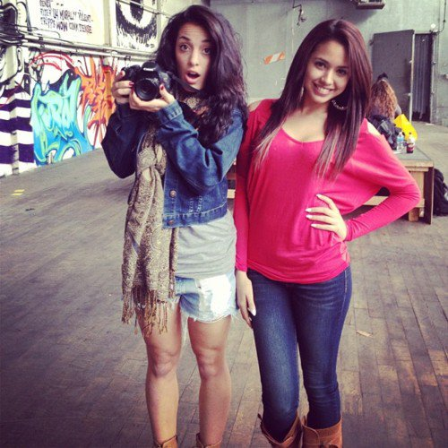 Jasmine Villegas et Brenda Jeans ! :)