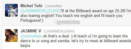 Tweet de Jasmine