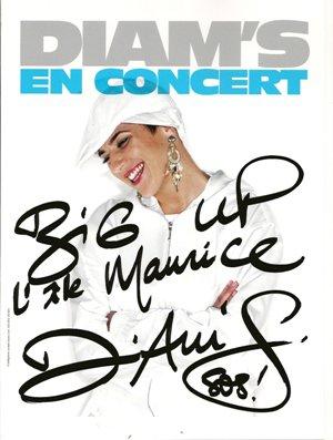 """Diam's en concert à l'Ile Maurice + concert de """"Expobat de Saint Paul"""" Photos"""