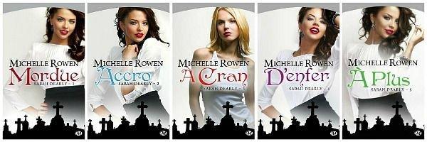"""Chapitre 8 : Sarah Dearly• 5 volumes (série terminée)• """" - Parce que, idiot, je suis folle de vous. - Ou peut-être êtes-vous juste un peu folle. """""""