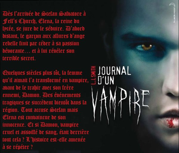 """Chapitre 4 : Journal d'un vampire   • 5 volumes  • """"- Je suis ton miroir ? - Oui c'est toi qui détient mon âme..."""""""