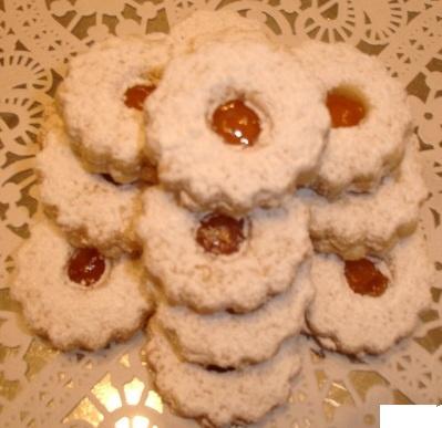 Pâtisseries Orientales vous propose ces tartes sablés à la confiture...