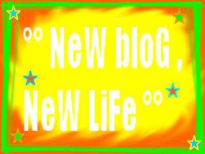 Nouveau blog .....  nouvelle vie