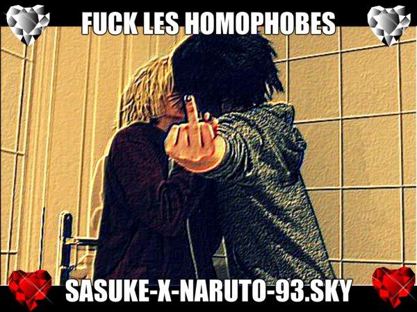 Fuck les homophobes