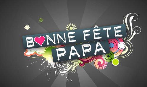 Bonne fête des pères !!