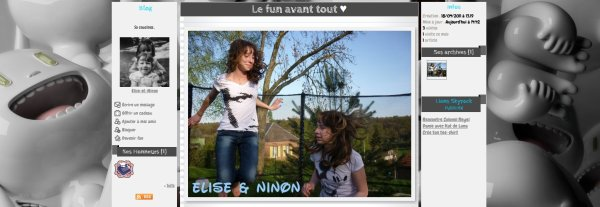 Nouveau blog : Elise-et-Ninon