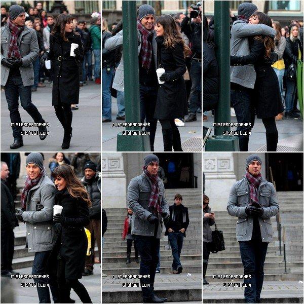 Le 18 Novembre, Dean Geyer, accompagné de Lea Michele & Chris Colfer ( pas sur les photos ), était à New York pour tourner un épisode de Glee durant la saison 4 + Photo coup de coeur d'une nouvelle photo d'un de ses photoshoot. ( Et ses yeux.. Oh mon dieu.. *-* )
