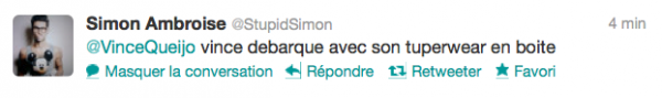 News twitter de Simon 25/05/12