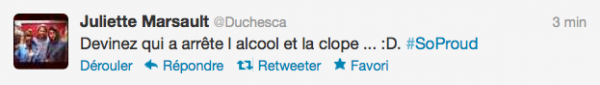 News twitter de juliette 27/05/12 suite
