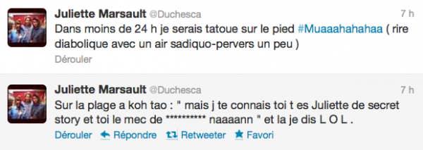 News twitter de juliette 27/05/12 suite bis