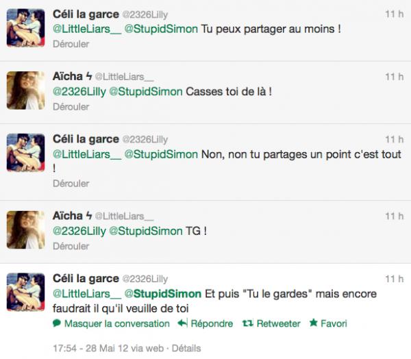 La minute de gloire d'Aïcha et Célestine......