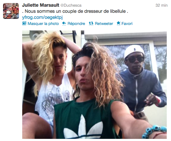 News twitter de juliette 03/06/12