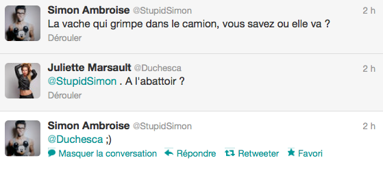 News twitter de Simon 11/06/12
