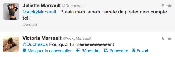News twitter de Juliette 11/06/12 suite