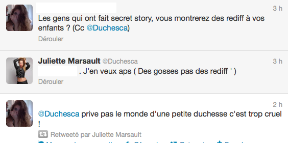 News twitter de juliette 12/06/12 suite